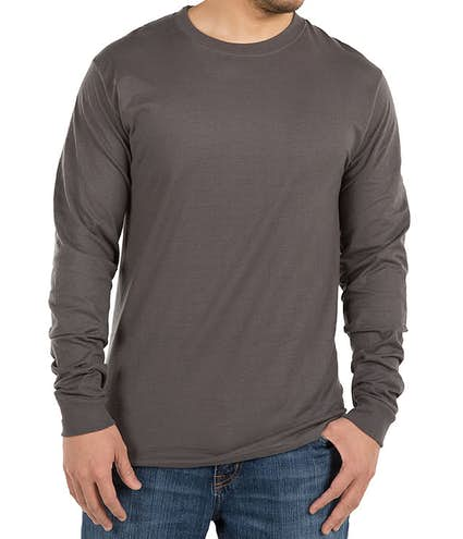 d75c8a456 Design Custom Printed Hanes Beefy-T Long-Sleeve T-Shirts Online at ...