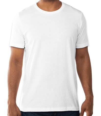 Bella + Canvas Jersey T-shirt - White