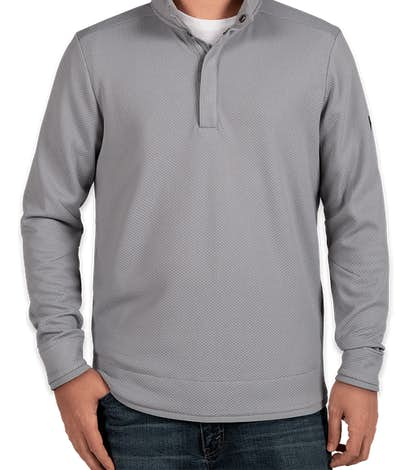 Under Armour Quarter Snap Up Sweater Fleece - Steel
