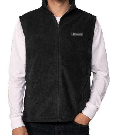 Columbia Steens Mountain Fleece Vest - Black