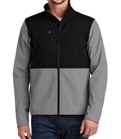 The North Face Castle Rock Soft Shell Jacket - Mid Grey