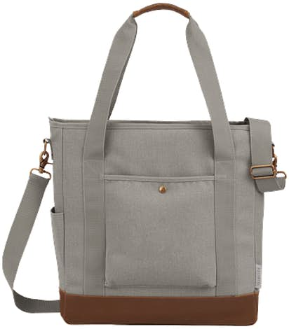 Field & Co. 16 oz. Cotton Canvas Commuter Tote - Gray