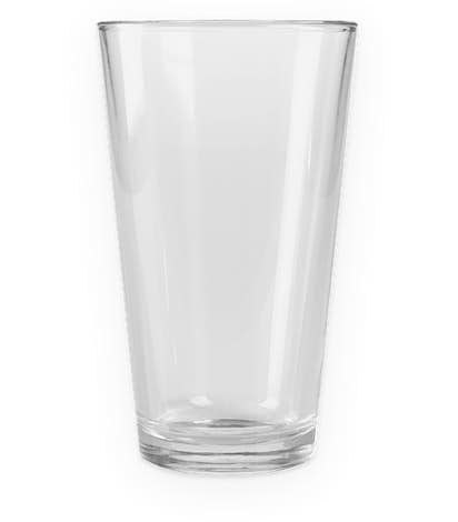 16 oz. Pint Glass - Clear