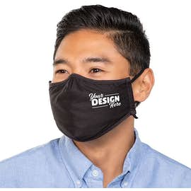 Customized Stormtech Embroidered Woven Face Mask