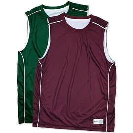 Sport-Tek Micro-Mesh Reversible Sleeveless Jersey