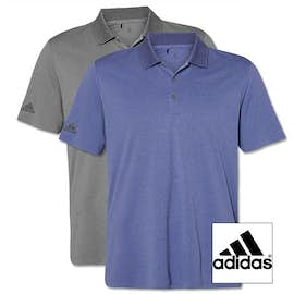 Adidas Heather Performance Polo