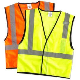 ML Kishigo Class 2 Mesh Safety Vest