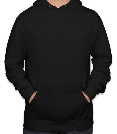 Independent Trading Lightweight Pullover Hoodie - Black