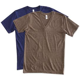 American Apparel Tri-Blend V-Neck T-shirt