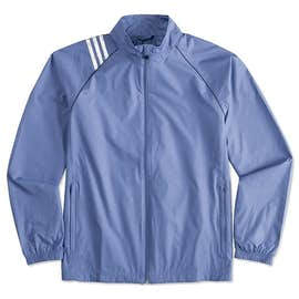 Adidas ClimaProof Three-Stripe Full Zip Jacket