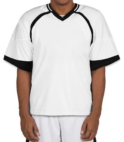 Teamwork Revolution Lacrosse Jersey - White / Black