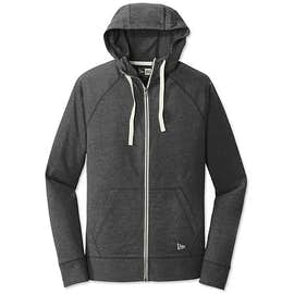 New Era Sueded Full Zip T-shirt Hoodie