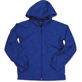Sport-Tek Youth Full Zip Hooded Jacket