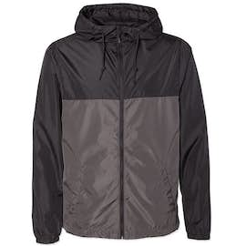 Independent Trading Colorblock Lightweight Full Zip Jacket