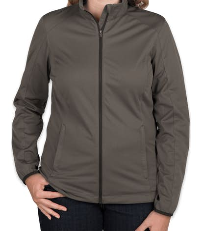 Port Authority Women's Lightweight Active Soft Shell Jacket - Grey Steel