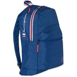 Champion Varsity Stripe Heathered Backpack ... 815727a89edd2
