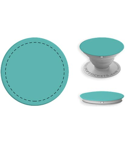 Full Color Fashion PopSocket® - Mint / Light Grey