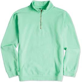 44e5224d Custom Quarter Zip Pullover Sweatshirts - Design Your Own at ...