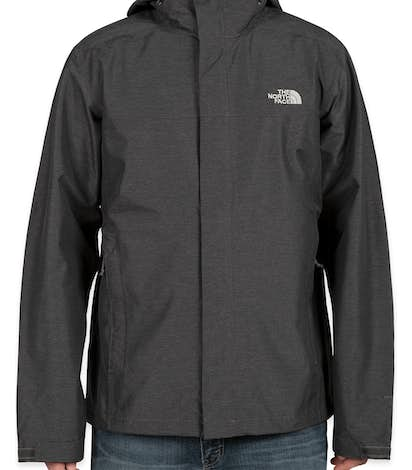 The North Face Waterproof Windbreaker Jacket - Dark Grey Heather