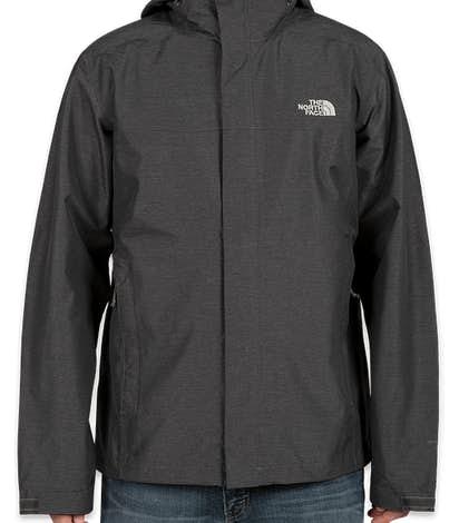 The North Face Waterproof Windbreaker Jacket - Dark Grey Heather
