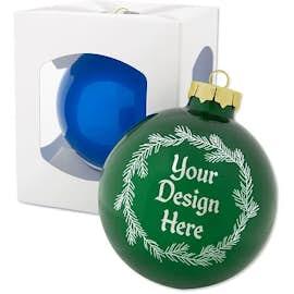 Glass Ball Tree Ornament