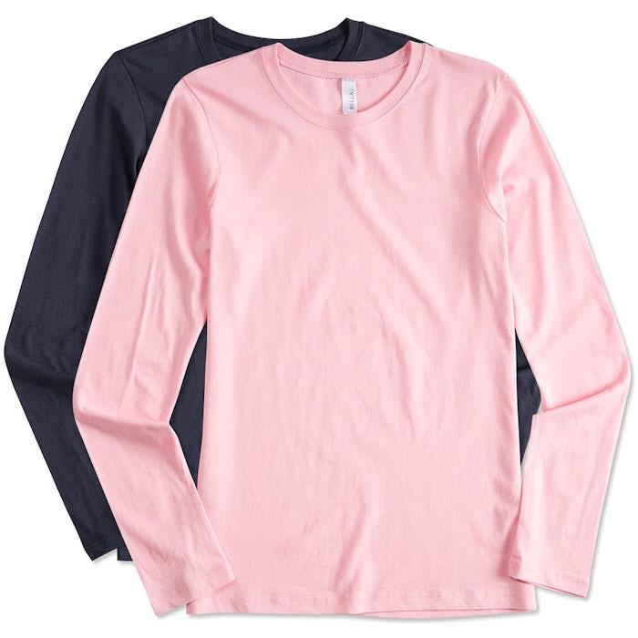 Custom Bella + Canvas Juniors Long Sleeve Jersey T-shirt - Design ... 4cb5da1af