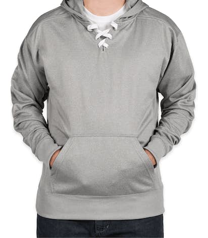 J. America Performance Hockey Pullover Hoodie - Athletic Heather