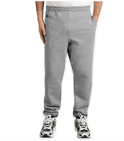 Russell Athletic Dri Power® Closed Bottom Sweatpants with Pockets - Oxford