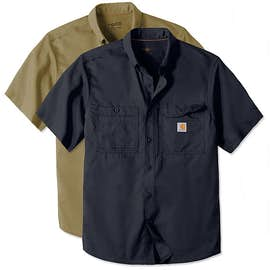 Carhartt Force Ridgefield Short Sleeve Casual Shirt