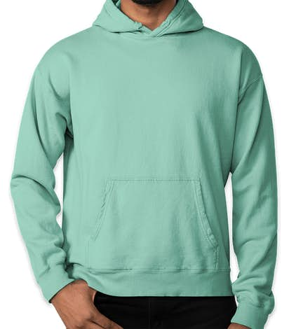 Hanes ComfortWash Garment Dyed Pullover Hoodie - Mint