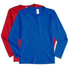 Canada - Gildan Women's 100% Cotton Long Sleeve T-shirt