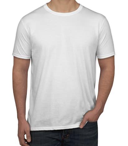 52c2d2a2dcf Custom Canada - Gildan Softstyle Jersey T-shirt - Design T-shirts ...