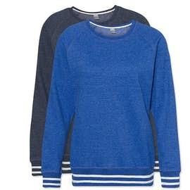 J. America Women's Varsity Crewneck Sweatshirt