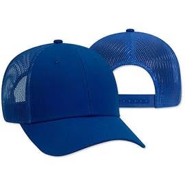 Otto Cap Low Profile Solid Trucker Hat