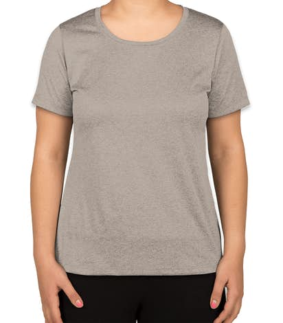 Sport-Tek Women's Heather Performance Shirt - Vintage Heather