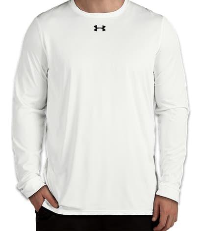 Under Armour Long Sleeve Locker Performance Shirt 2.0 - White