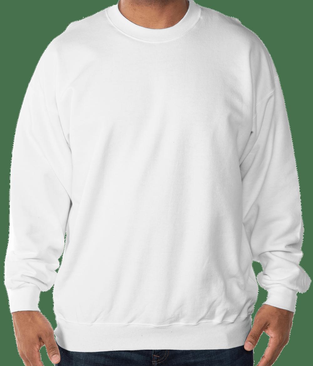 Custom Hanes Ultimate Heavyweight Crewneck Sweatshirt Design