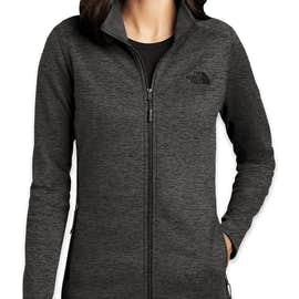 The North Face Women's Skyline Full Zip Fleece Jacket - Color: TNF Dark Grey Heather