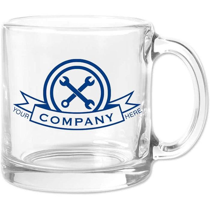 13 Oz Clear Gl Coffee Mug