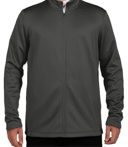 Nike Therma-FIT Full-Zip Performance Sweatshirt - Anthracite