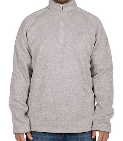 9d8092c12563 Custom Devon   Jones Quarter Zip Sweater Fleece Pullover - Design ...