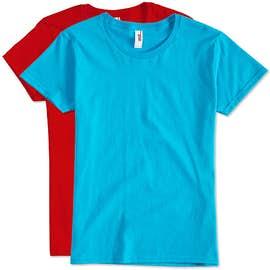 Canada - Anvil Women's Jersey T-shirt