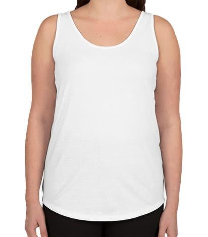 Hanes Women's X-Temp Tank - White
