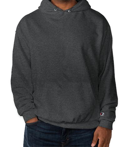 Champion Double Dry Eco Pullover Hoodie - Charcoal Heather