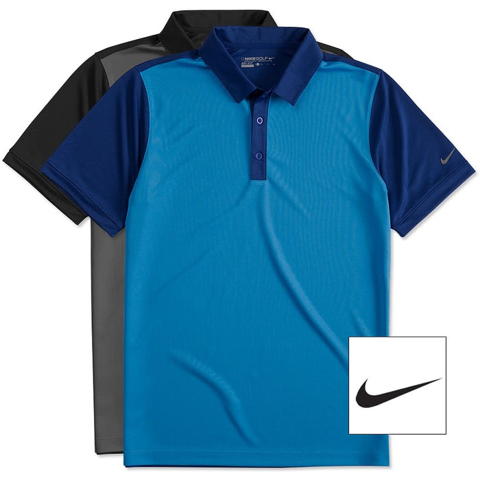 9c76826e Design Custom Embroidered Nike Golf Dri-FIT Colorblock Icon ...