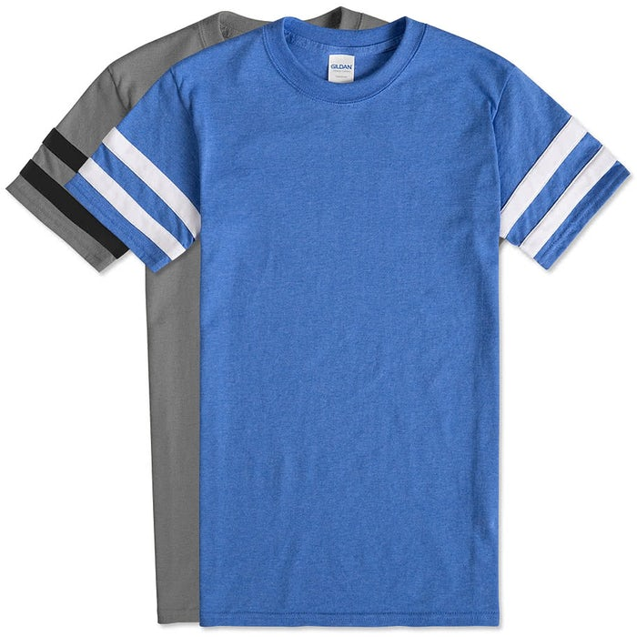 86f4159cb Custom Gildan Varsity T-shirt - Design Short Sleeve T-shirts Online ...