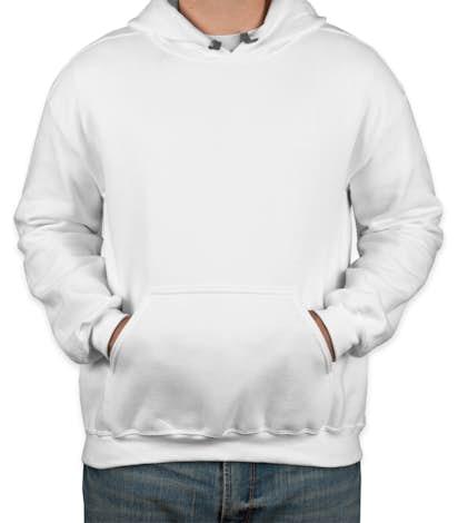 Gildan Premium Blend Midweight Pullover Hoodie - White