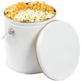 One Gallon Trio Flavor Popcorn Tin