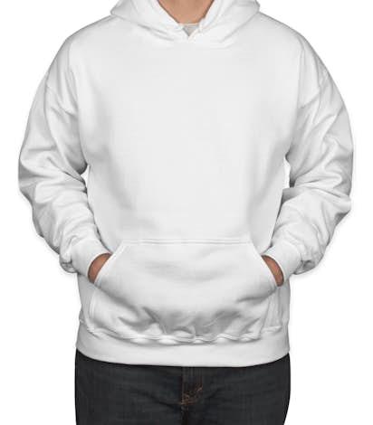 Canada - Gildan Dryblend® 50/50 Pullover Hoodie - White