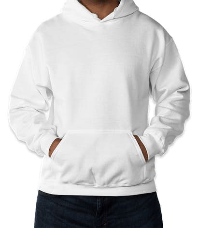 Gildan DryBlend 50/50 Pullover Hoodie - White